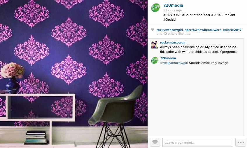 Pantone's Color Of Year Radiant Orchid Colorado Springs